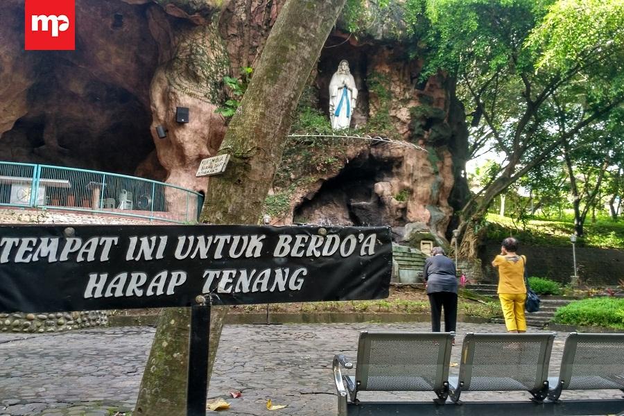 Gua Maria Lourdes Poh Sarang Wisata Religi Kediri Merahputih Pohsarang