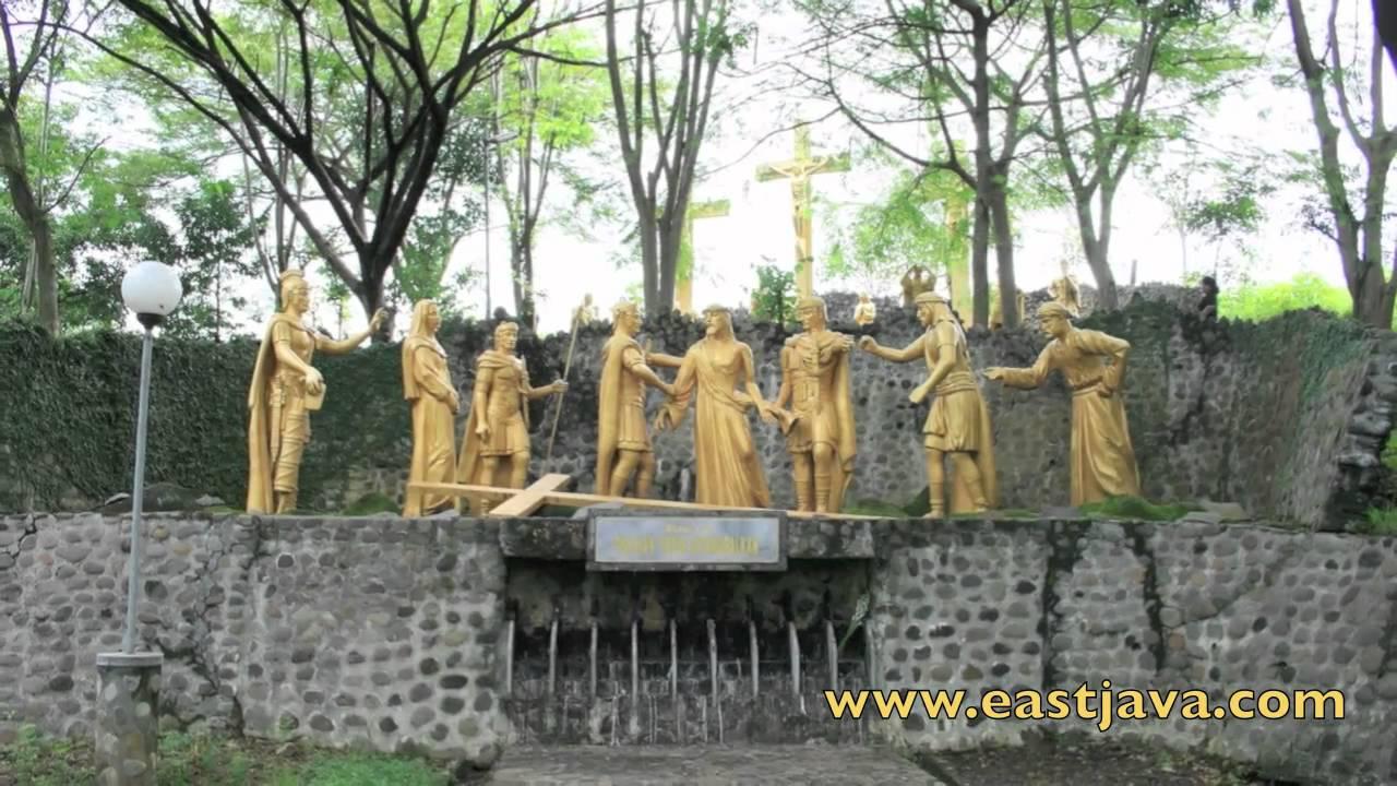 Puhsarang Church Kediri Youtube Gua Maria Pohsarang Kab