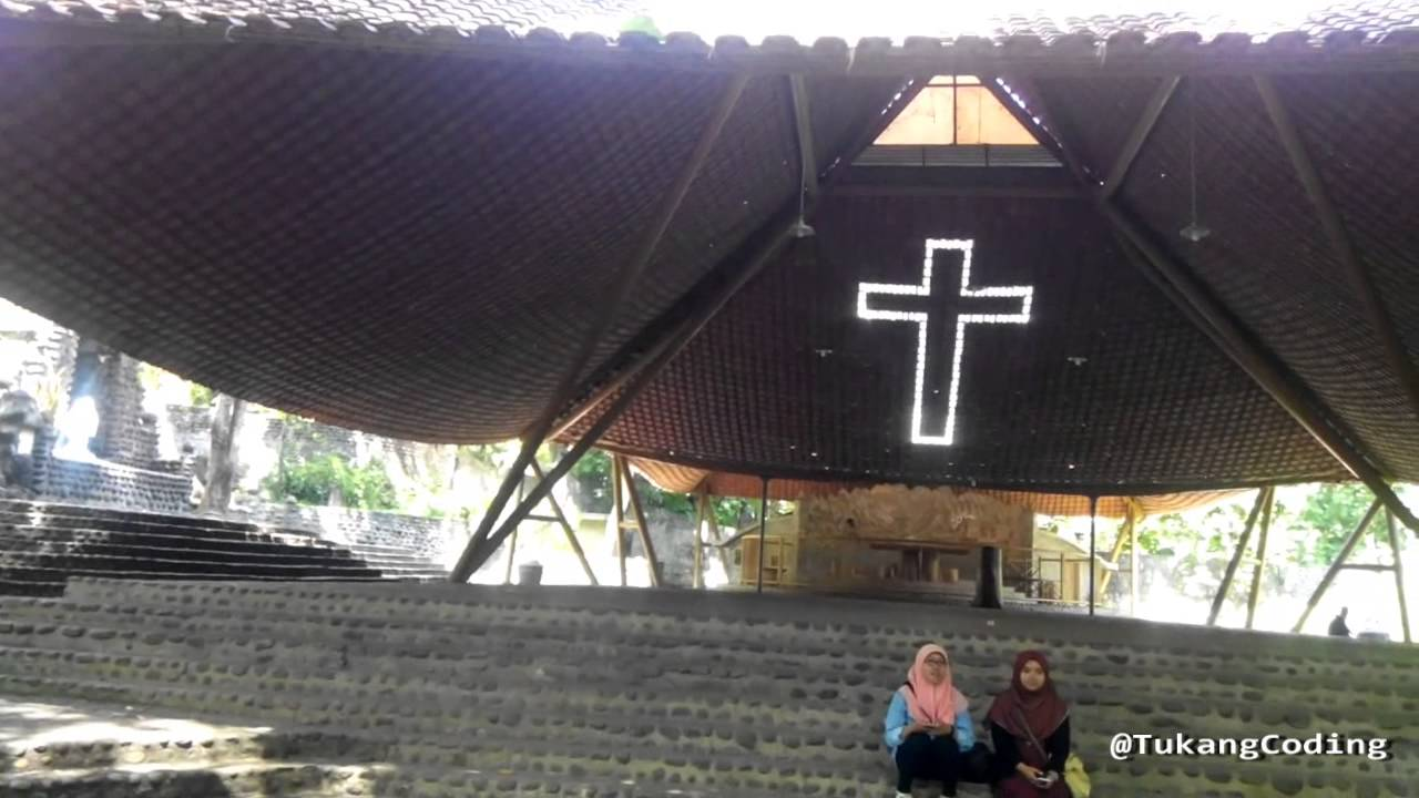 Wisata Religi Keren Gereja Pohsarang Kediri Youtube Gua Maria Kab