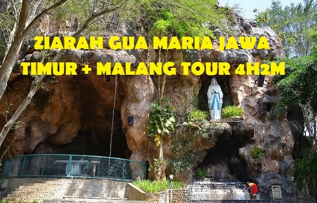 Ziarah Gua Maria Jawa Timur Malang Tour 4h2m Asoka Travel