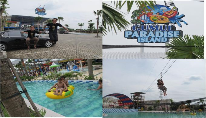 17 Tempat Wisata Kediri Favorit Rekomendasi Gumul Paradise Island Kab