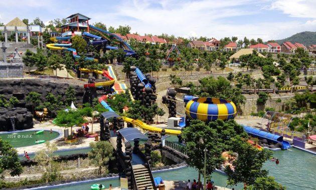 27 31 Kolam Renang Waterpark Kediri Sumber Pagora Tirtoyoso Bukit
