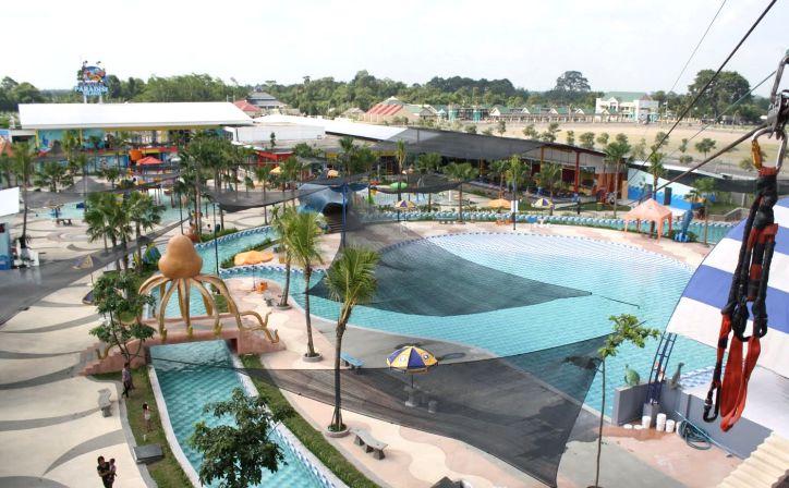 Fun Gumul Paradise Island Kediri Viva Hotel Kab