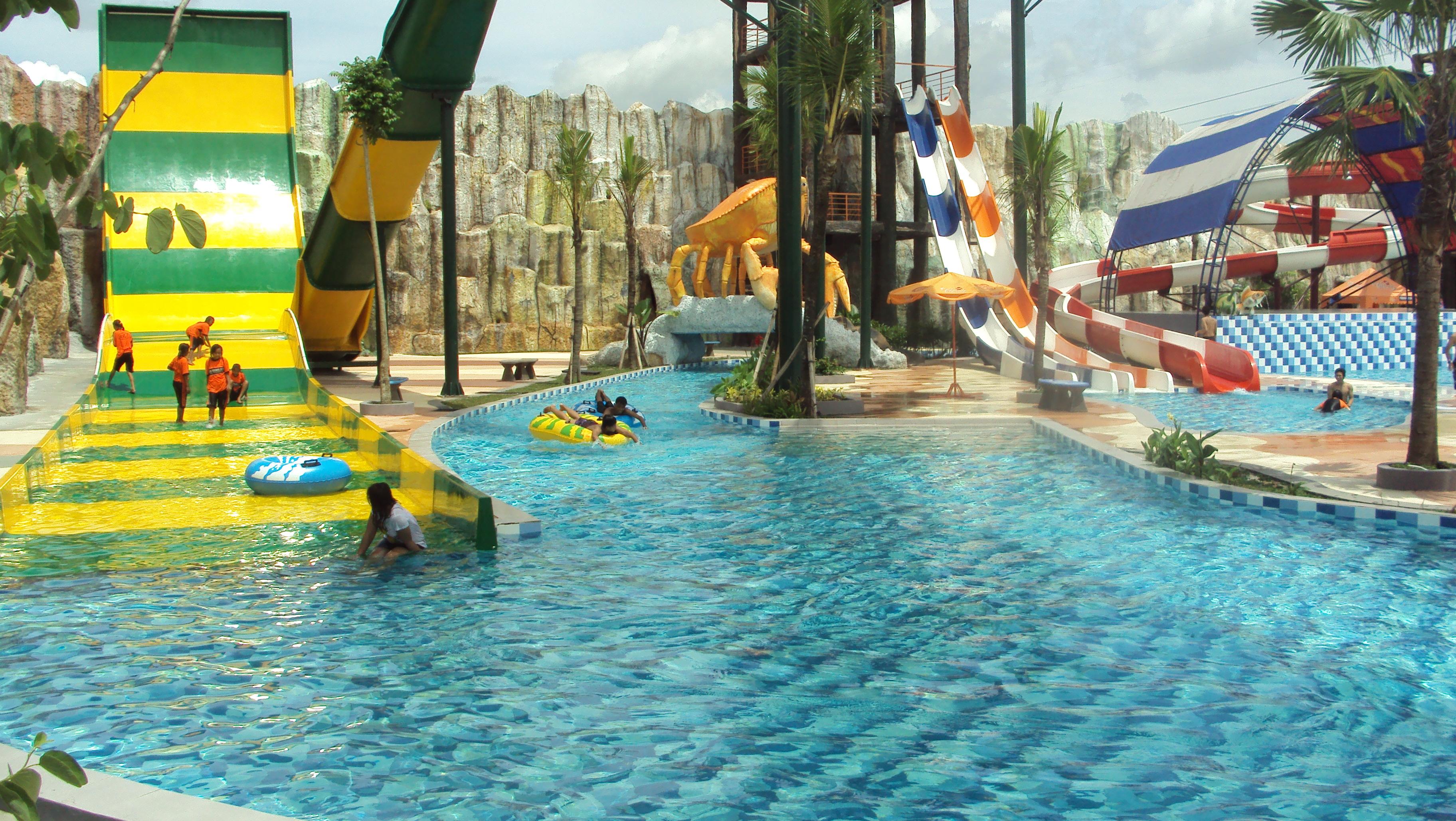 Gpi Waterpark Google Gumul Paradise Island Kab Kediri