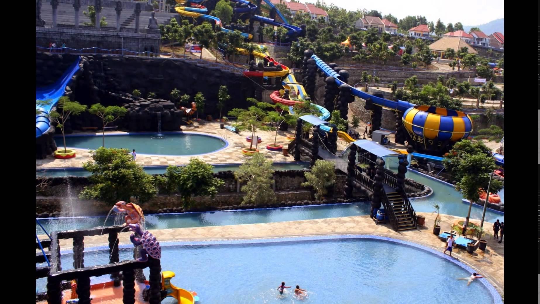 Hotel Dekat Water Park Kediri Youtube Gumul Paradise Island Kab