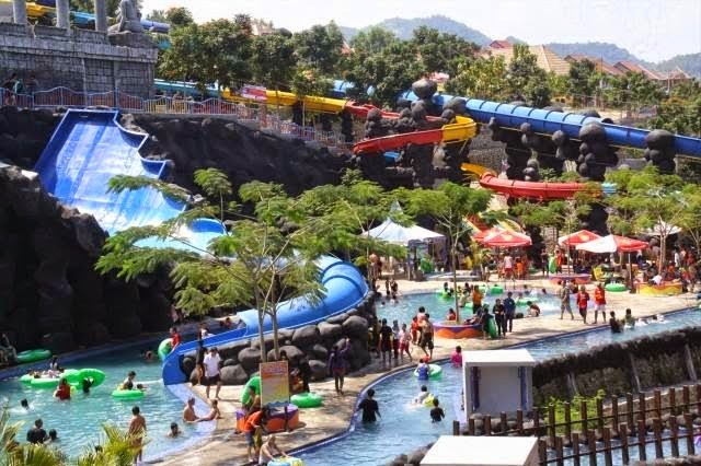 Tempat Populer Kediri Wisata Alamnya Sparklepush Gumul Paradise Island Kab