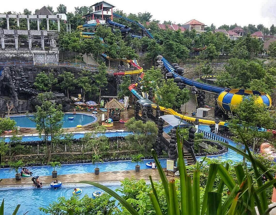 Tempat Wisata Kediri Hits 2018 Waterpark Gumul Paradise Island Kab