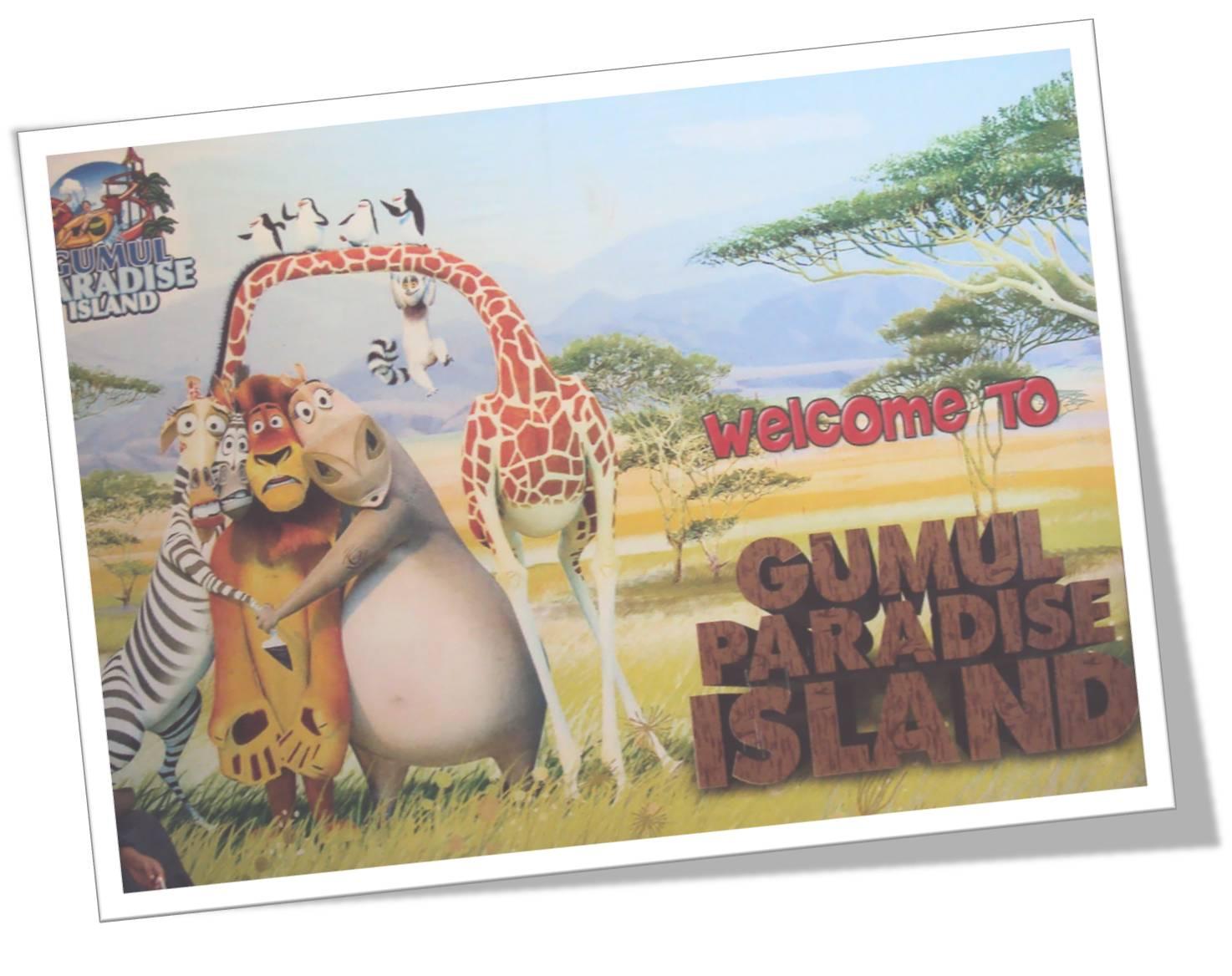 Water Boom Gumul Paradise Island Kediri World Kab
