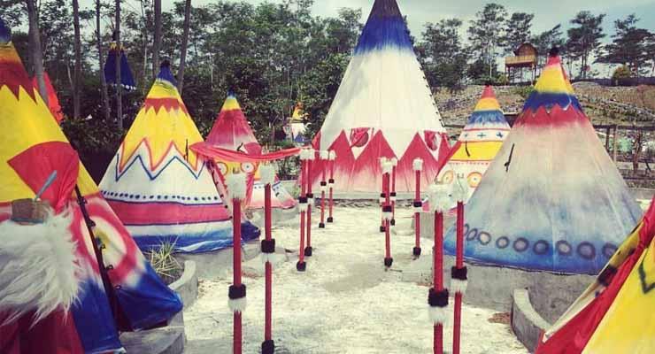 Kampung Indian Kediri Istana Jambu Kab