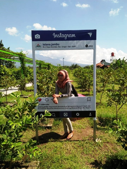 Lokasi Rute Menuju Istana Jambu Kediri Tempat Wisata Indonesia Agrowisata