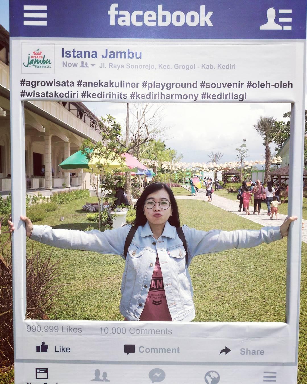 Wisata Istana Jambu Kediri Menjadi Tempat Foto Oleh Ig Meikatama