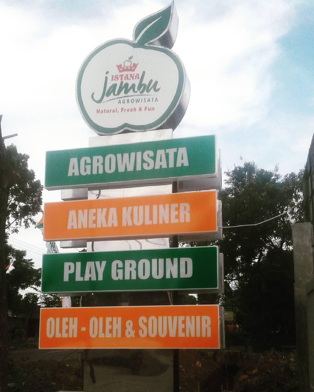 Wisata Istana Jambu Kediri Traveling Yuk Agro Kab