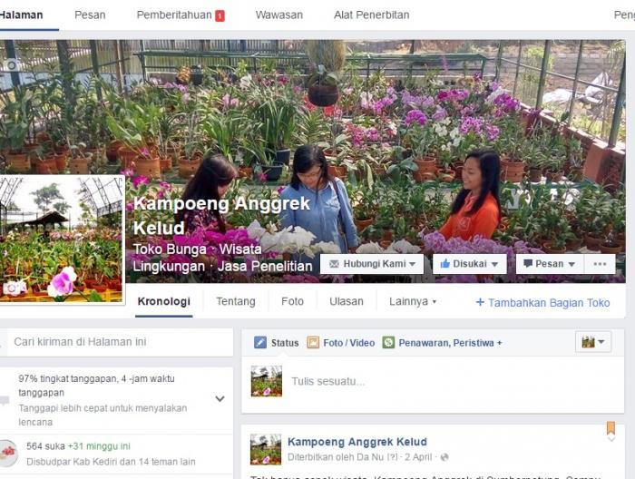 Kampoeng Anggrek Terbit Timur Kediri Oleh Lafaza Quanta Screen Shot