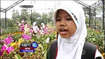 Wisata Kampung Anggrek Sport Videos Destinasi Edukasi Kediri Net12 Kab