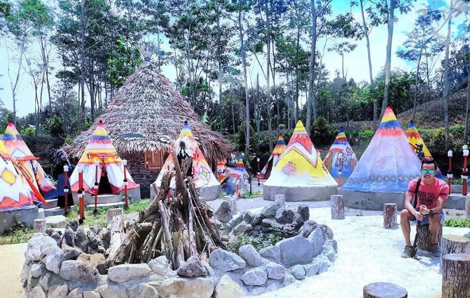 Berwisata Ala Kampung Indian Aja Kab Kediri