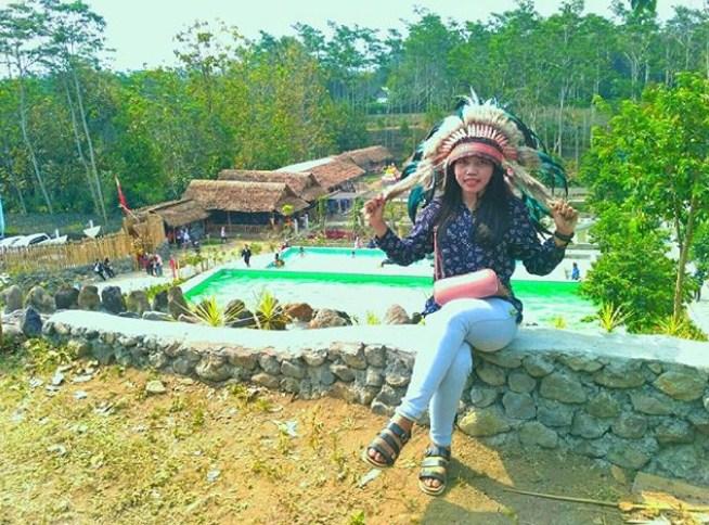 Kampung Indian Kediri Jawa Timur Cektravel Info Kab