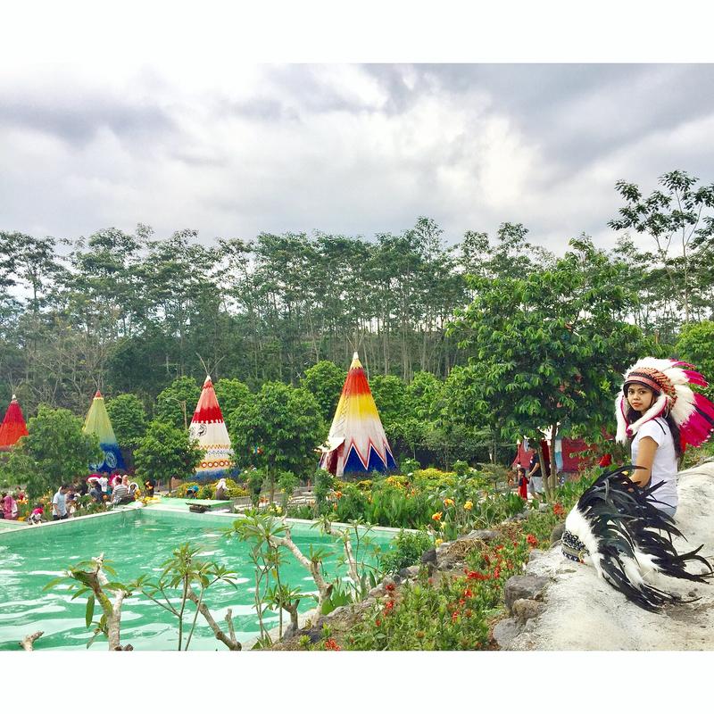 Kampung Indian Kediri Wisata Menarik Wajib Dikunjungi Info Foto Oleh