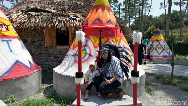 Kampung Indian Tapi Kediri Andhika Dwi Detiktravel Kab