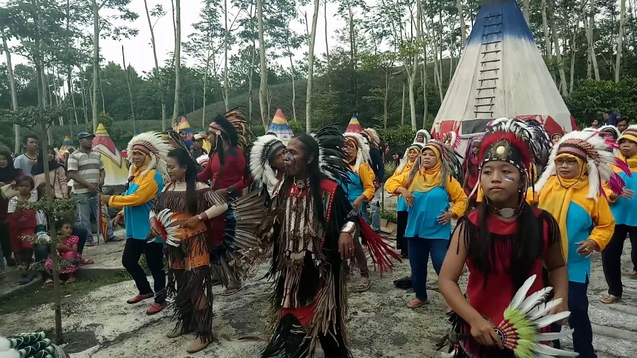 Kampung Indian Village Gunung Kelud Kediri Jawa Timur Youtube Kab