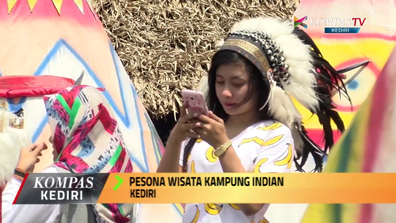 Kediri Pesona Wisata Kampung Indian Youtube Kab