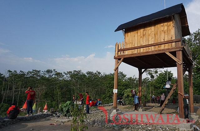Pengalaman Liburan Kampung Indian Kediri Ngancar Yoshiwafa Rumah Kayu Kab