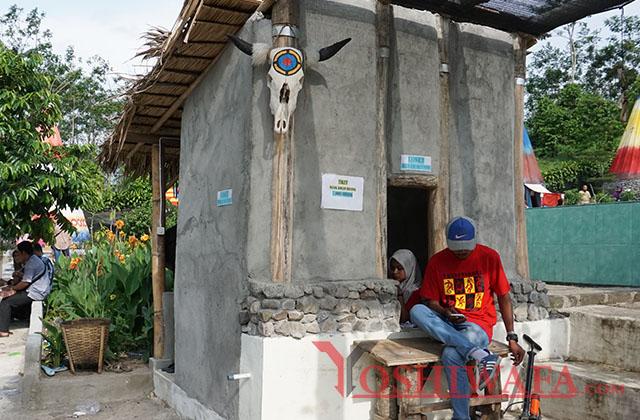 Pengalaman Liburan Kampung Indian Kediri Ngancar Yoshiwafa Toiltet Kab