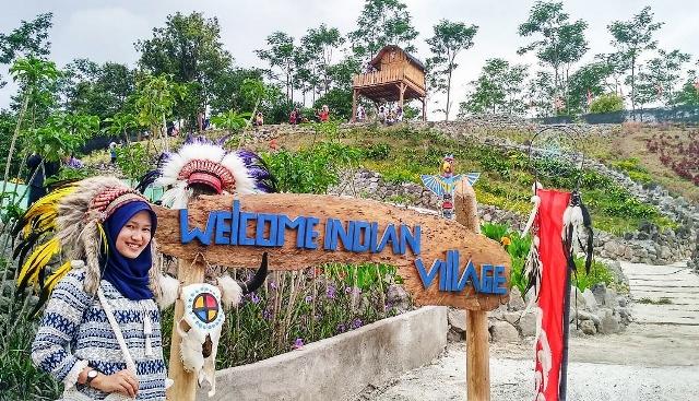 Tempat Wisata Kediri Hits Wajib Kalian Hasil Gambar Kampung Indian