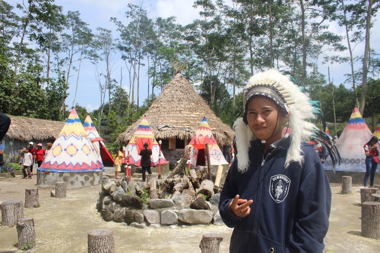 Travelling East Java Kampung Indian Kab Kediri Terletak Tidak Jauh