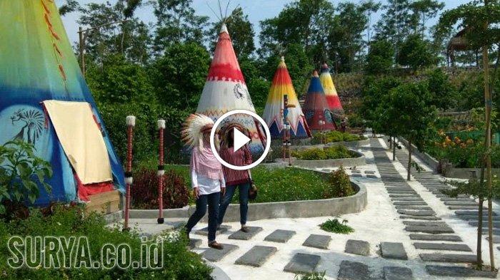 Video Bergaya Ala Indian Wisata Kampung Kediri Surya Kab