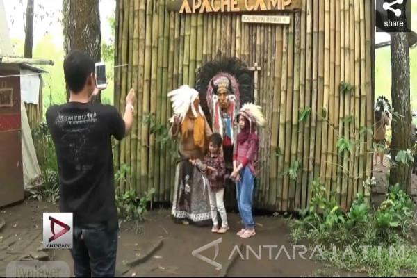 Video Kampung Indian Kota Batu Antara News Jawa Timur Kab