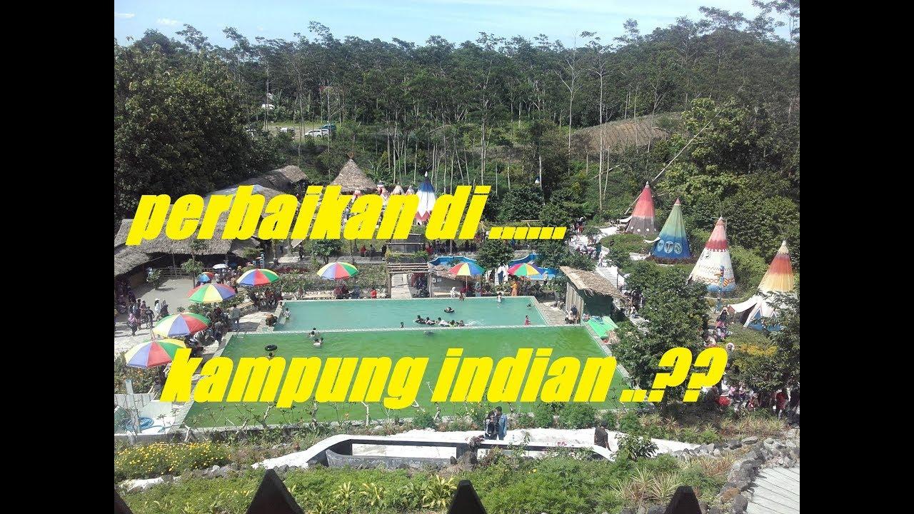 Wisata Kampung Indian Kediri Jawa Timur Gunung Kelud Youtube Kab