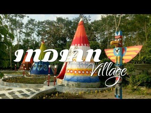 Wisata Kampung Indian Kediri Kab