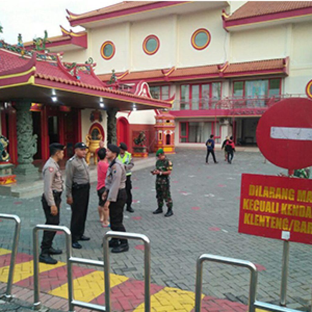 Antisipasi Peristiwa Tanjungbalai Aparat Keamanan Kediri Lakukan Pengamanan Khusus Tempat