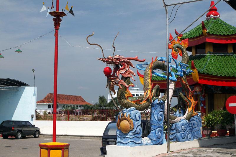 Icon Kota Tahu Kediri Klenteng Tjoe Hwie Kiong Letak Kelenteng