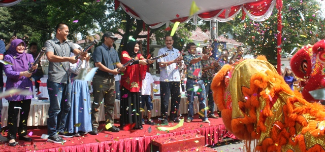 Kirab Barongsai Se Jawa Bali Meriahkan Hut Klenteng Tjoe Hwie