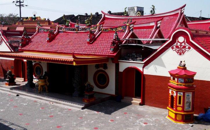 Menguak Simpanan Budaya China Kuno Kelenteng Tjoe Hwie Kiong Kediri