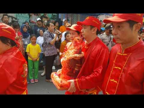 Partisipasi Kelenteng Poo San Sie Kertosono Acara Kirab Tjoe Hwie