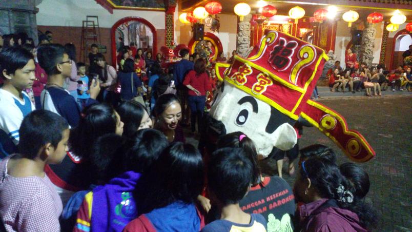 Perayaan Sambut Imlek 2569 Klenteng Tri Dharma Tjoe Hwie Kiong