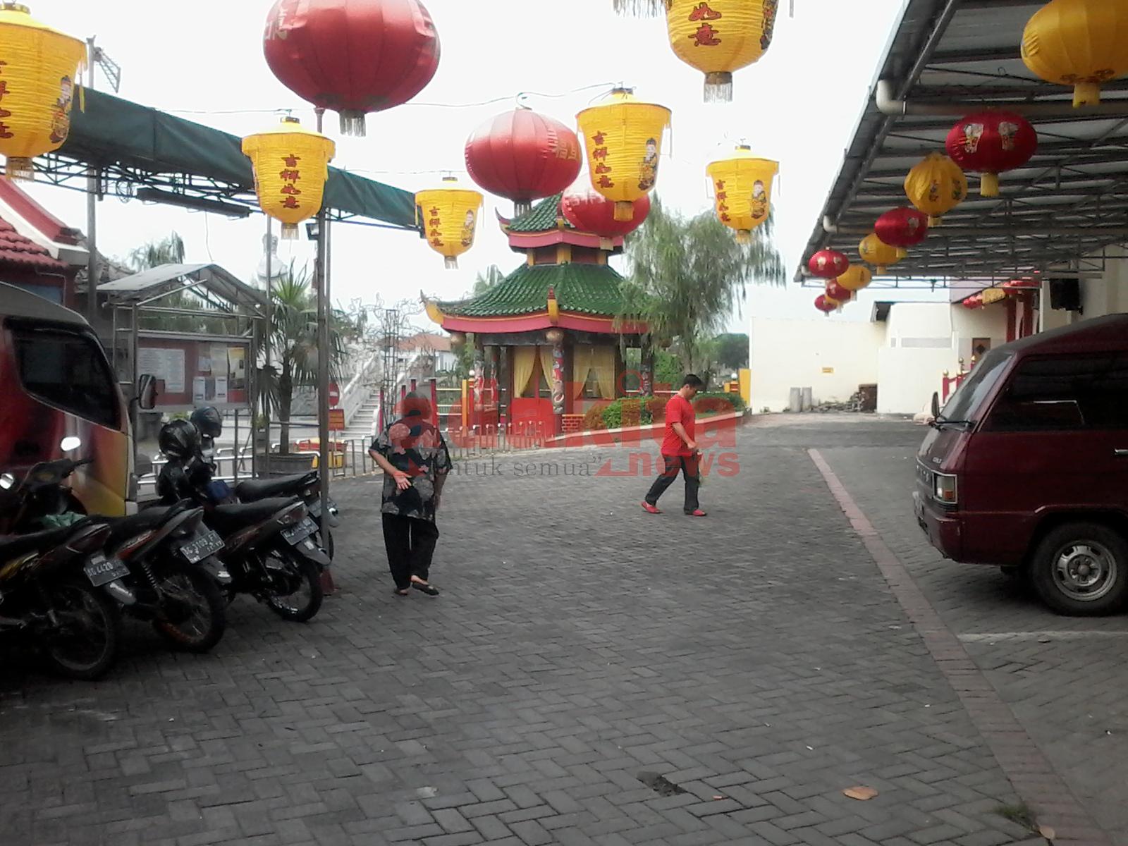Persiapan Imlek Klenteng Kota Kediri Adakitanews Kelenteng Tjoe Hwie Kiong