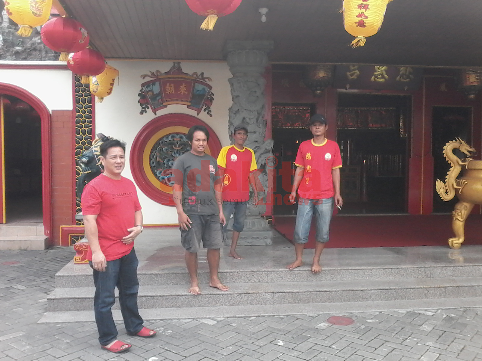 Persiapan Imlek Klenteng Kota Kediri Adakitanews Ketua Umum Yayasan Tri