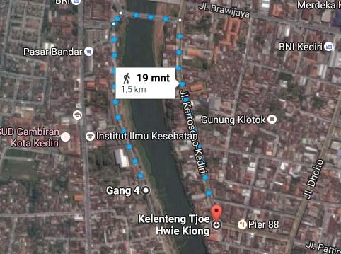 Pesona Keindahan Wisata Tjoe Hwie Kiong Kediri Daftar Tempat Demikianlah