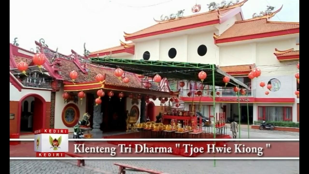 Profil Wisata Kota Kediri Disbudparpora Youtube Kelenteng Tjoe Hwie Kiong