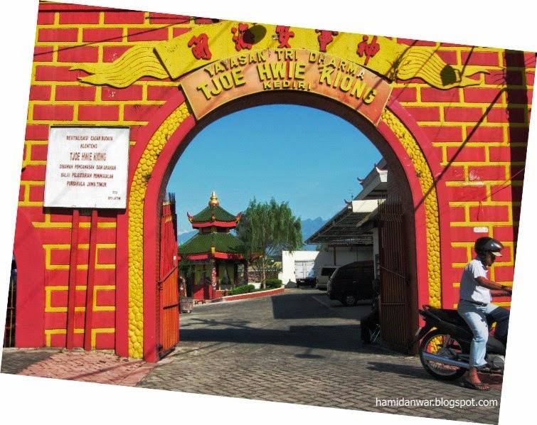 Traveling Dua Hari Kediri 7 8 Juni 2014 Kelenteng Tjoe