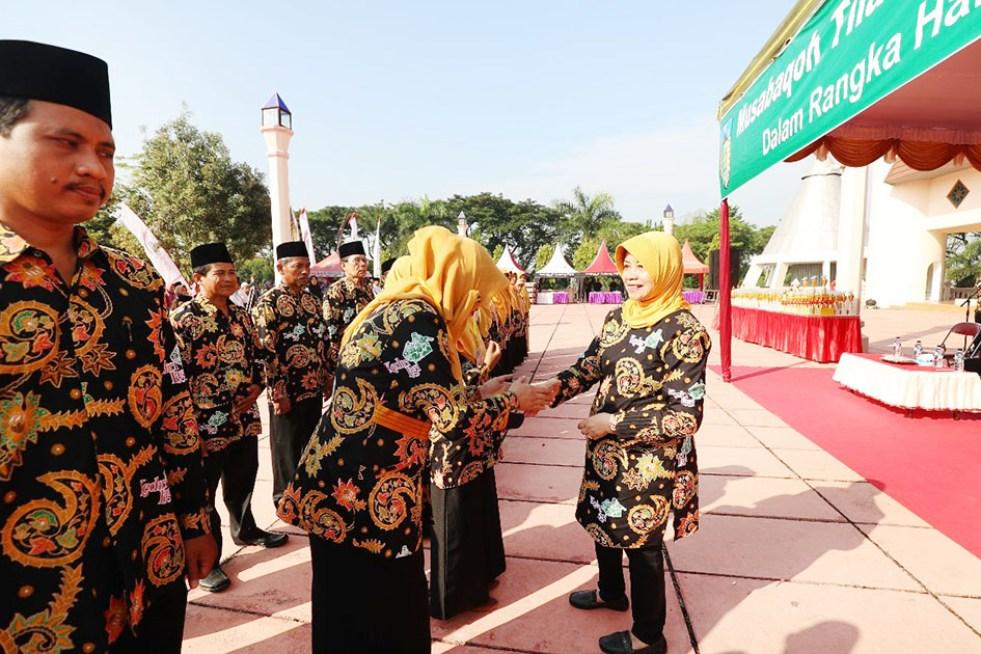 Bupati Haryanti Sutrisno Membuka Mtq Kabupaten Kediri 2018 Suara Smn