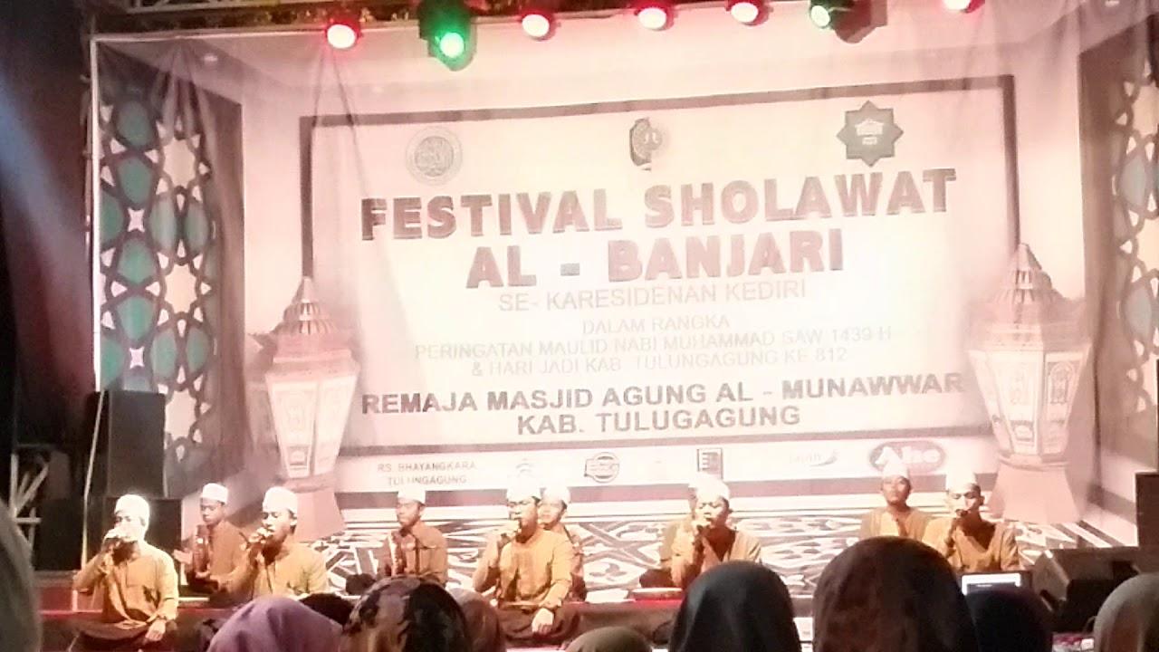 Fesban Se Karesidenan Kediri Masjid Agung Al Munawwar Tulung Peserta
