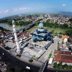 Gunung Maskumambang Kediri Pinterest Instagram Masjid Agung Kab