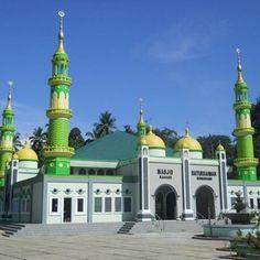 Masjid Agung Kediri Indonesia Beautiful Mosque Baiturrahman Sungayang Sumatera Barat