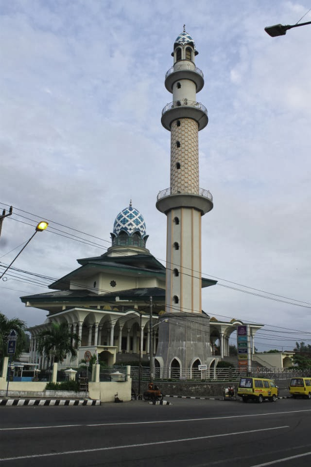 Masjid Agung Kediri Indonesia Beautiful Mosque Kab