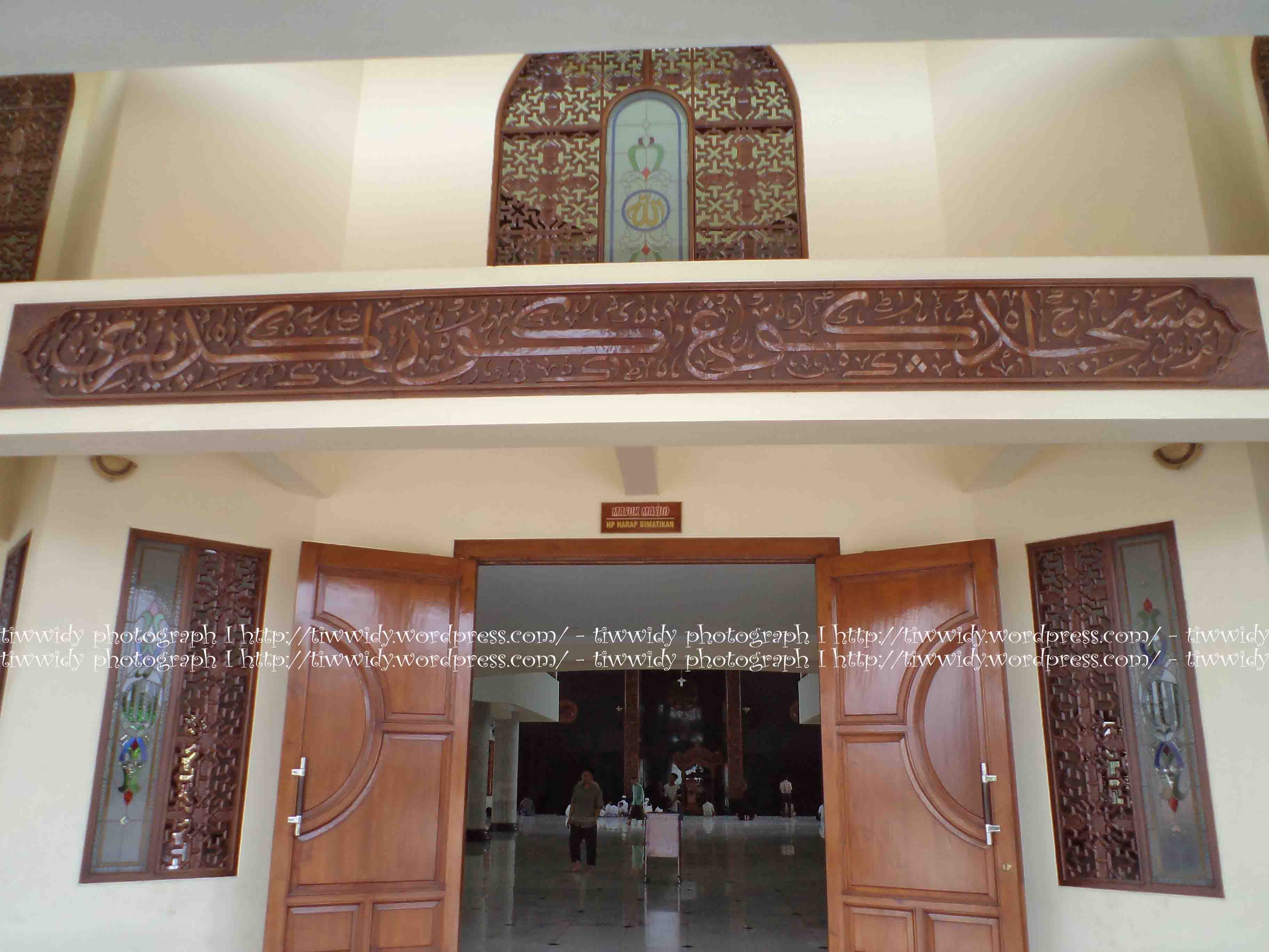 Masjid Agung Kota Kediri Kemegahannya Wee World Main Building Arabic