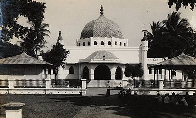 Masjid Agung Kota Kediri Kemegahannya Wee World Tempoe Doeloe Kab